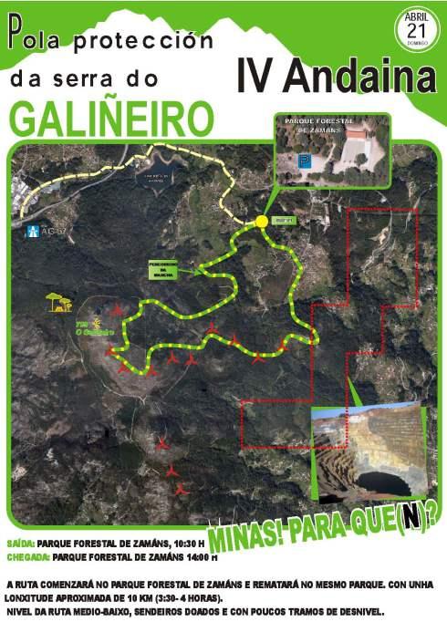 IV andaina pola protección da Serra do Galiñeiro