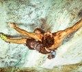 Chris Sharma y Adam Ondra escalan La Dura Dura 9b+