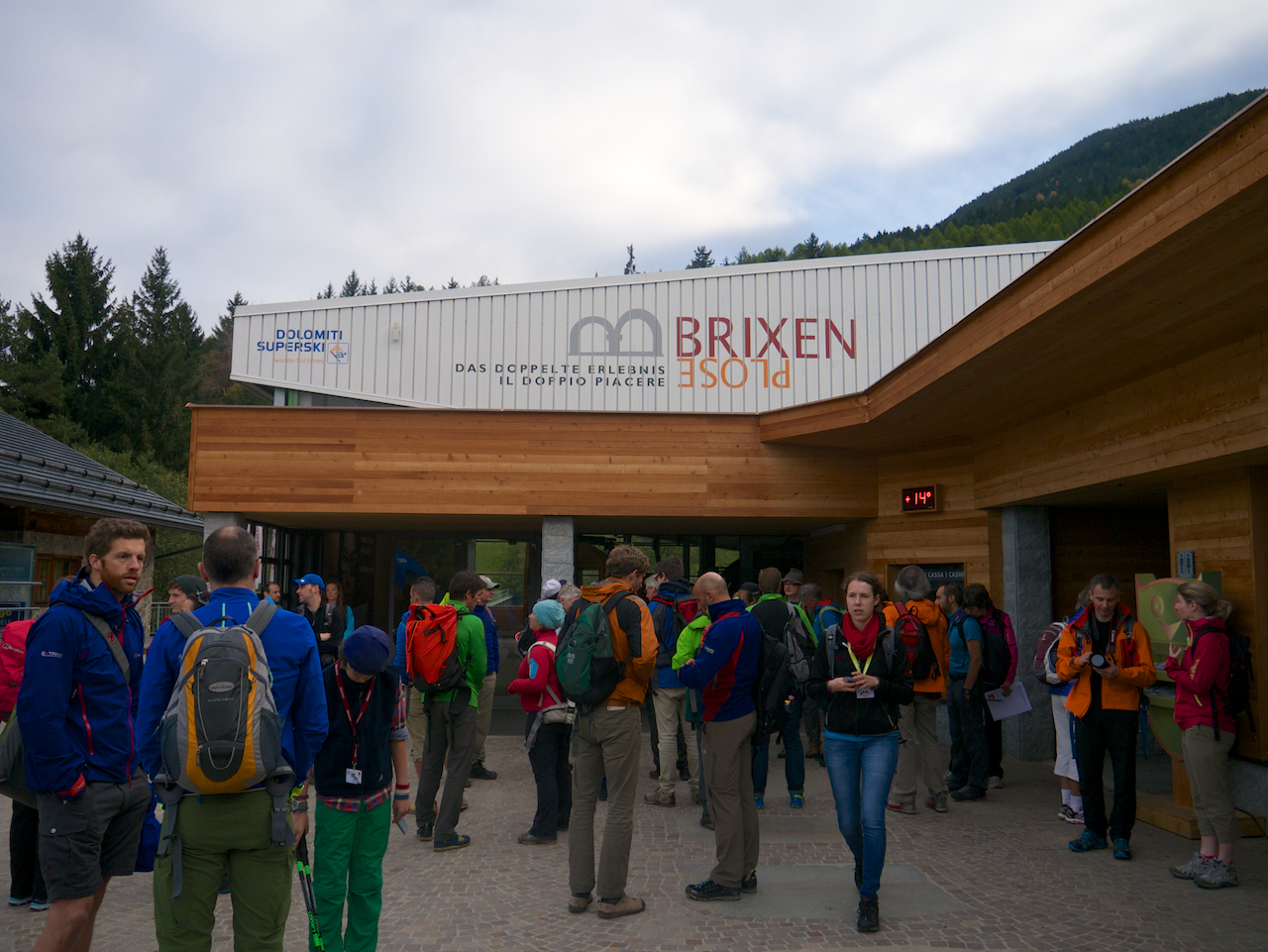 Gore-Tex Walk Day. IMS Brixen