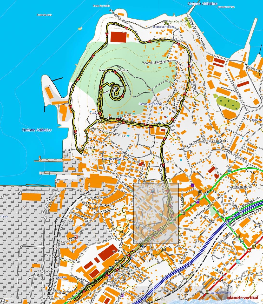 Comparativa Garmin Fenix 3 y Garmin Öregon GPS urbano