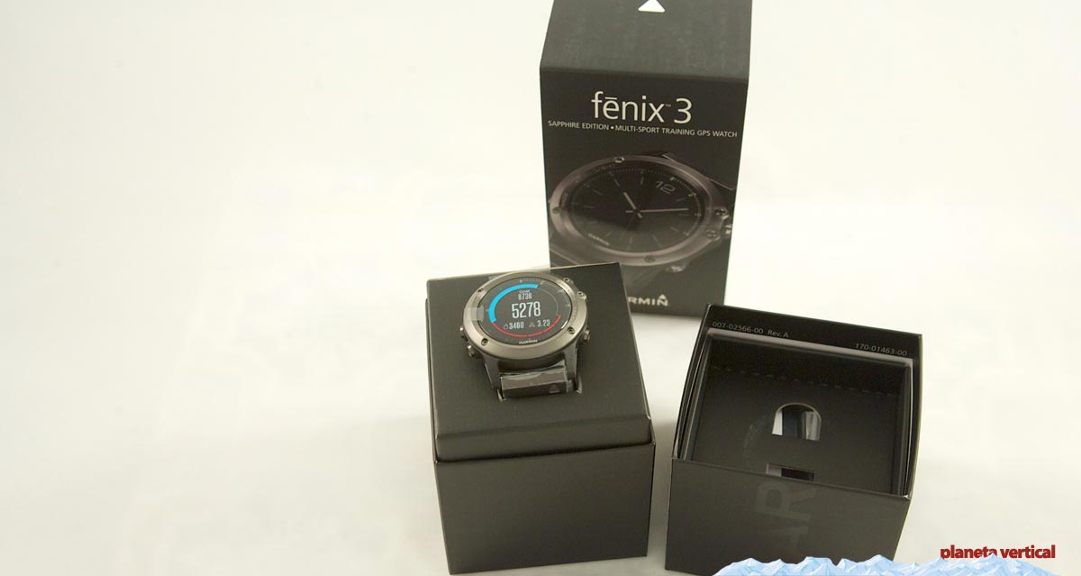 fe8183c6b51a Reloj GPS Garmin Fenix 3. Prueba urbana y en montaña