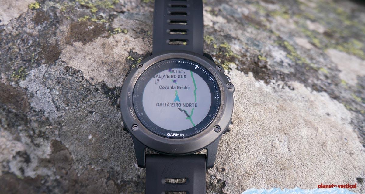 Garmin Fenix 3 Basecamp uso como GPS