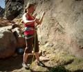 Escalada en roca, técnicas básicas. Aseguramiento top rope