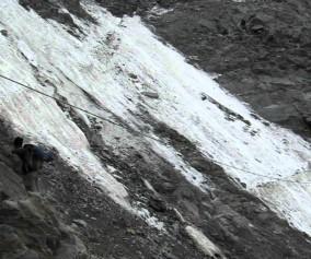 Los guías suspenden la ascensión por la ruta normal al Mont Blanc