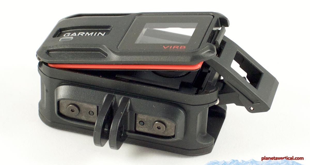 Sistema de cierre de la carcasa de la Garmin Virb XE