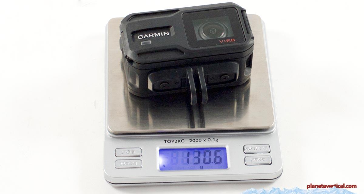 garminvirbxe-peso-camara