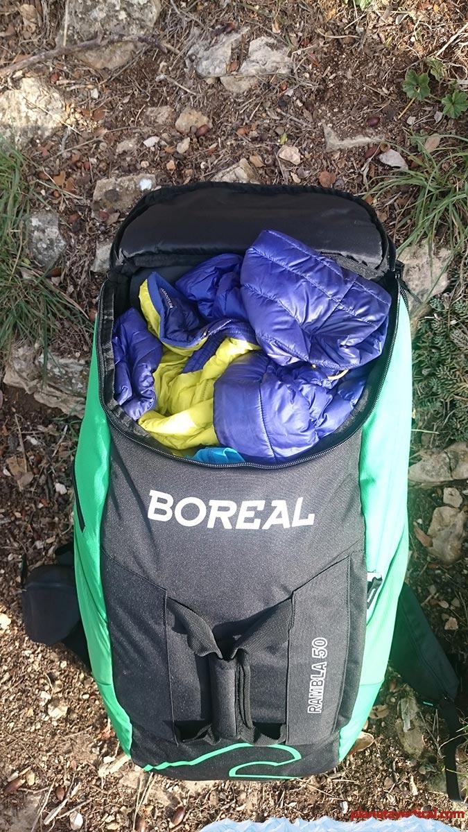 Boreal Rambla 50, acceso desde la parte superior