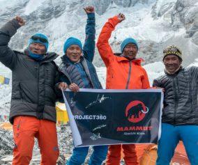 El Project 360 de Mammut llega al Everest