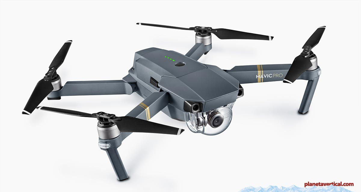 DJI Mavic Pro drone dron